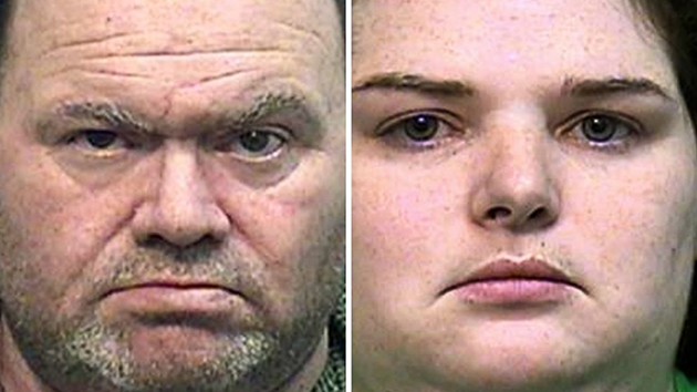 (Effingham County Sheriff) Elwyn Crocker and Candice Crocker are pictured in undated booking photos released by the Effingham County Sheriff's Office in Georgia.