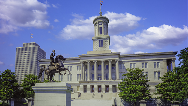 Tennessee State Capitol - Credit: Ron_Thomas/iStock