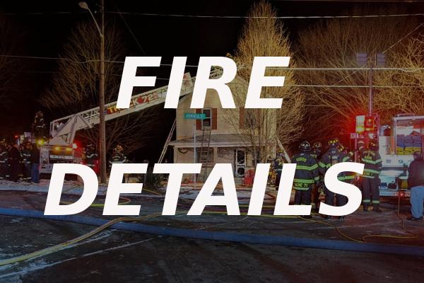 Arminta Street fire Jan 2019 details