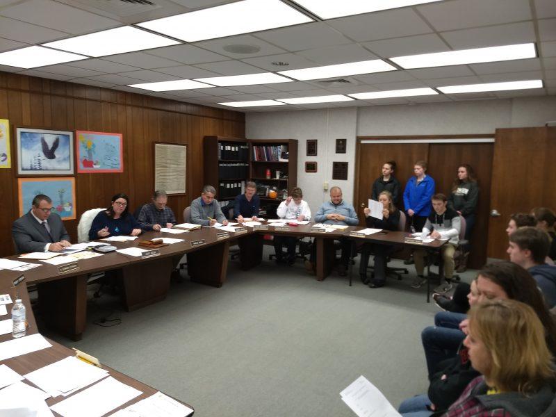 Brockway School Board Jan 8