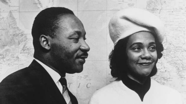 Dr. Martin Luther King with his wife Correta Scott. (© Hulton-Deutsch Collection/CORBIS/Corbis via Getty Images)