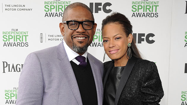 Forest and Keisha Whitaker; Kevin Mazur/WireImage