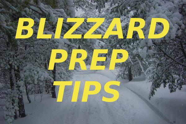blizzard prep tips