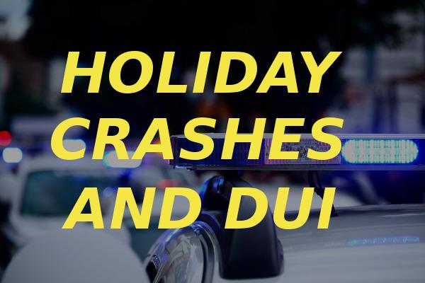 holiday crashes DUI
