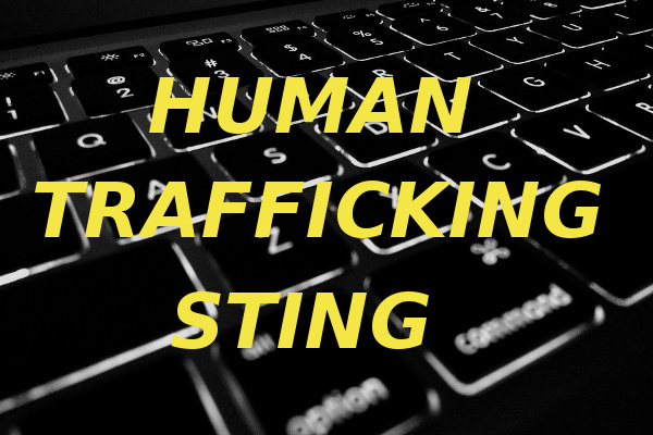 human trafficking sting