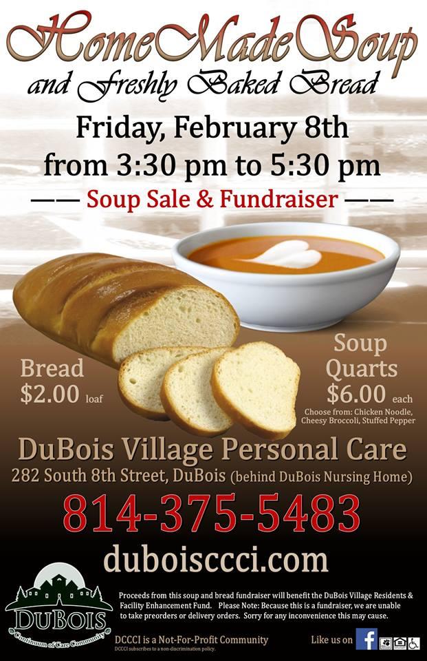 DuBois Village Soup Feb 2019