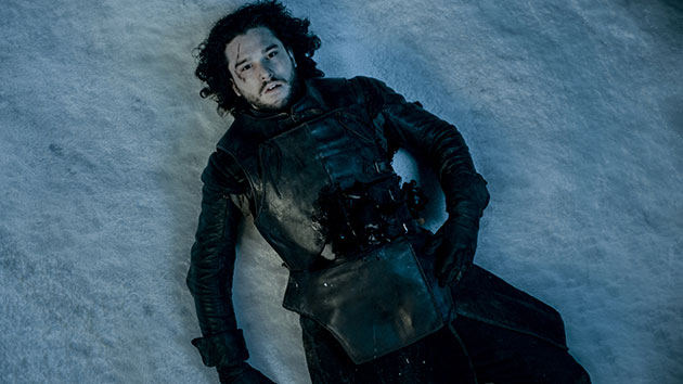 Kit Harington as Jon Snow; Courtesy HBO