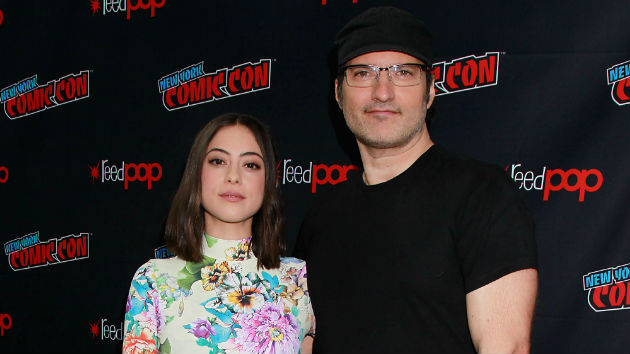 "(L-R) ""Alita"" star Rosa Salazar, director Robert Rodriguez/Courtesy 20th Century Fox"