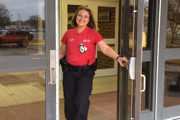 Police officer Janice Bart