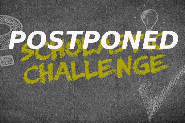 scholastic challenge postponed