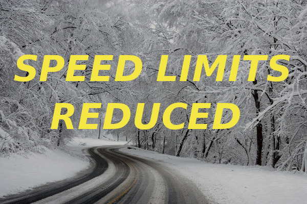 speed limits reduced