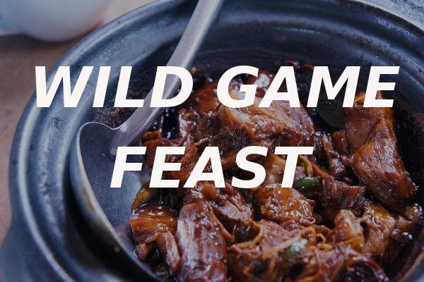 wild game feast VFW