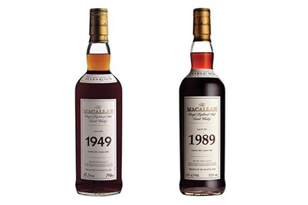 Macallan Whisky auction bids PLCB