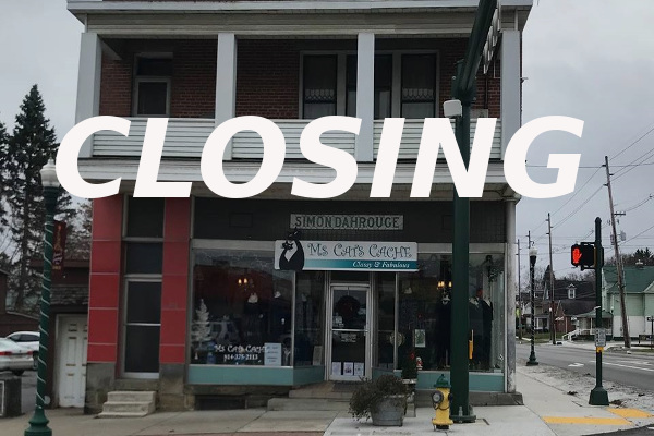 Ms Cats Cache closing