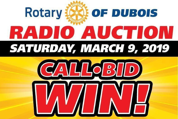 Rotary Radio Auction
