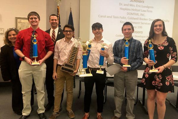 Senior Scholastic Challenge 2019 DCC winners