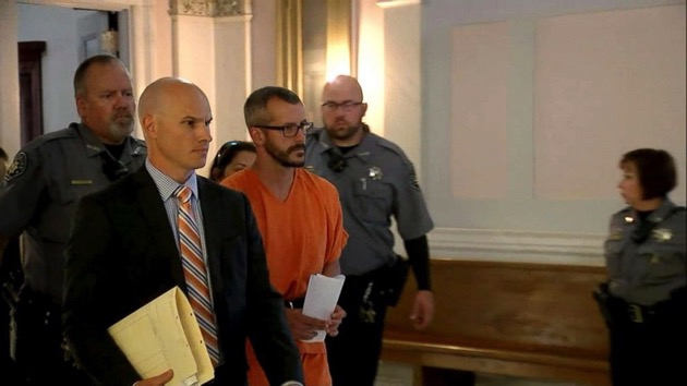 (ABC News)  Chris Watts arrives in court in Colorado for his sentencing on Nov. 19, 2018.