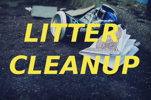 litter cleanup