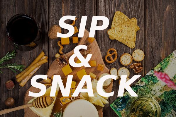 sip and snack
