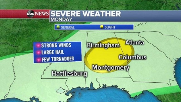 Severe weather heading east as record flooding continues - Connect