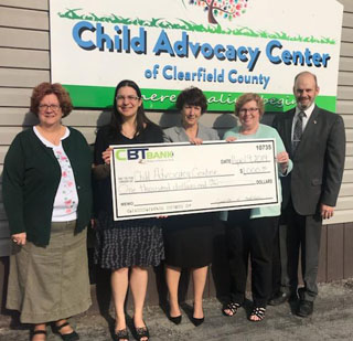 CBT Bank Donates to CAC