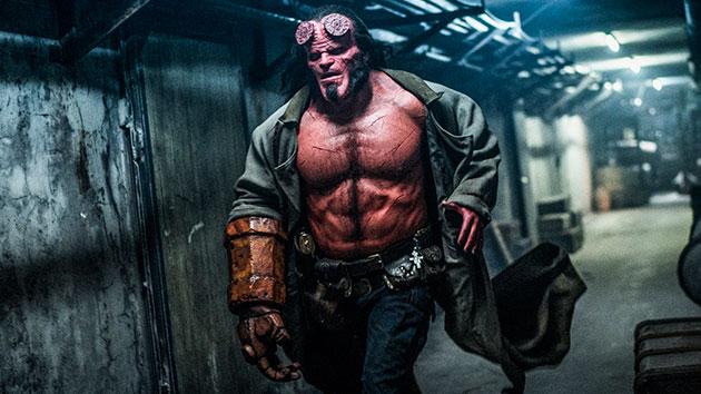 "David Harbour in ""Hellboy""; Mark Rogers/Lionsgate"