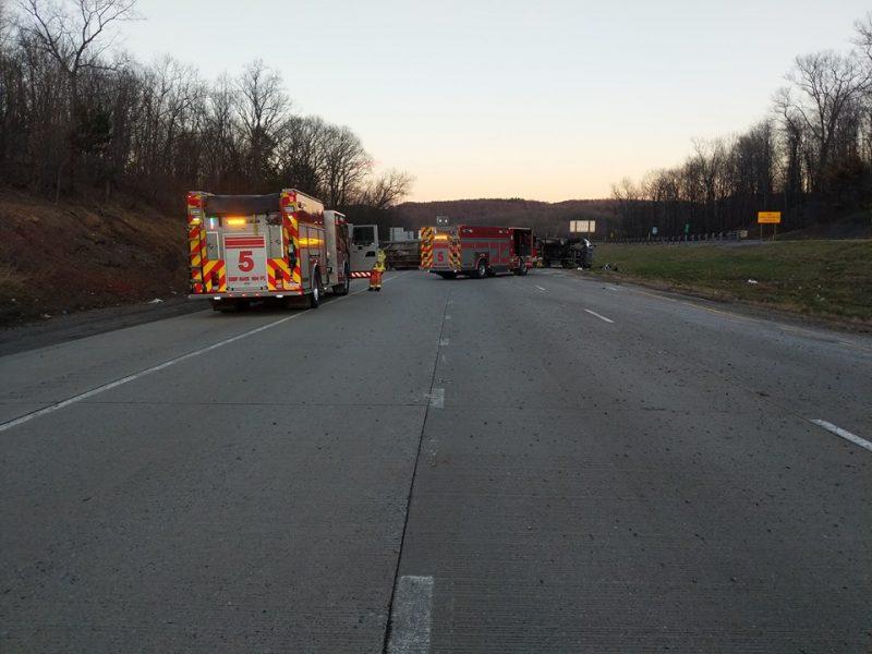 Lawrence VF Company 5 Interstate 80 crash April 9 2019