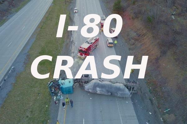 Lawrence VF Company 5 Interstate 80 crash April 9 2019 small