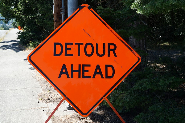 Ongoing roadwork in St  Marys, DuBois, Bradford Twp