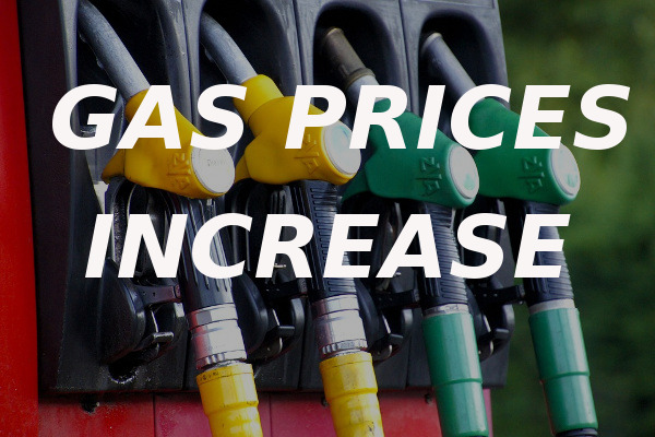 gas prices increase