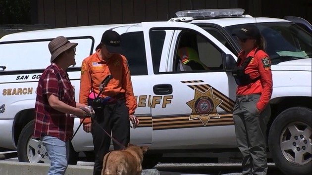 (KABC) Rescue workers are searching the area around Mount Baldy and Cucamonga Peak in California's San Gabriel Mountains for two missing hikers who haven't been seen since April 6, 2019.