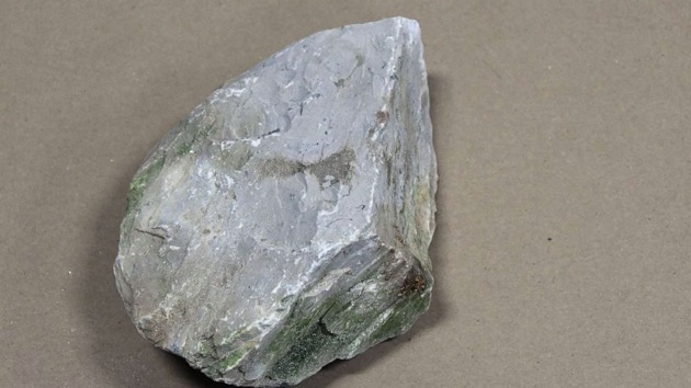 (Boone County Sheriff)  The Boone County Sheriff's Office released images of this rock that authorities say two teenage boys threw at a Kentucky roadway, seriously injuring a driver.