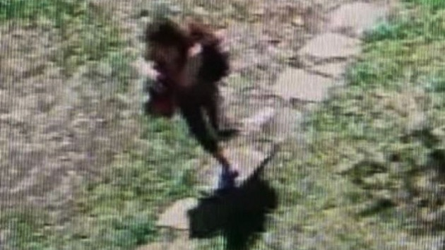(Wise County Sheriff's Office) Authorities in Texas released this image asking for help in finding a young woman who they say mysteriously pleaded for help through a home's security system before fleeing the scene, April 9, 2019.