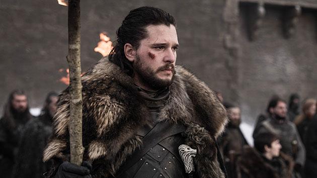 Kit Harington as Jon Snow; Helen Sloan/HBO