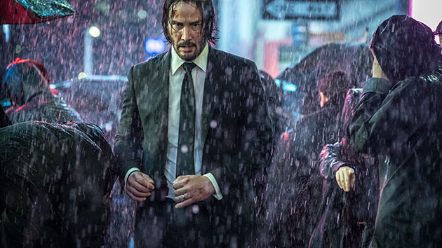 "Keanu Reeves in ""John Wick: Chapter 3 -- Parabellum""; Niko Tavernise/Lionsgate"