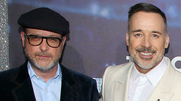 L-R - Producers Matthew Vaughn, David Furnish -- Dave Allocca/Starpix