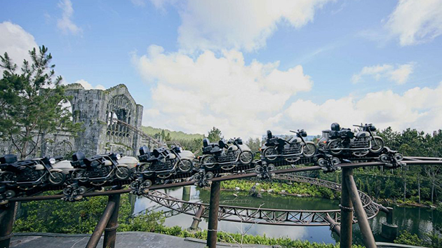Hagrid's Magical Creatures Motorbike Adventure, opening at Universal Orlando on June 13. (Credit: Universal Orlando)