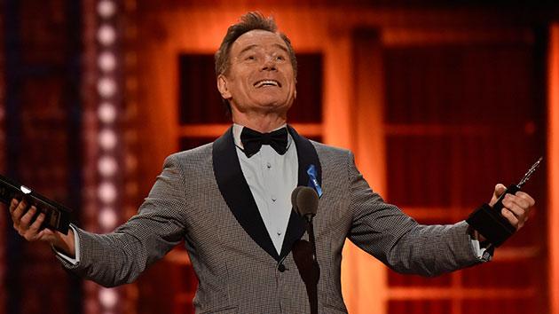 Bryan Cranston wins at the 2019 Tony Awards; John P. Filo/CBS