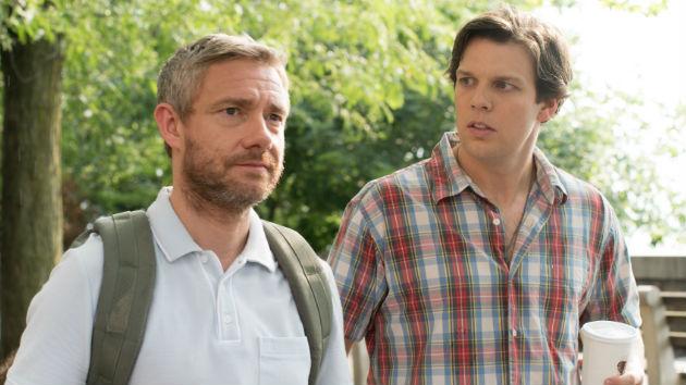 L-R: Martin Freeman, Jake Lacy/IFC Films