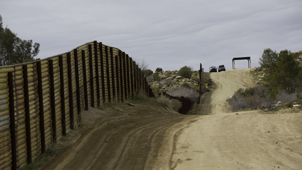 Donald Trump's border wall: how much has been built?