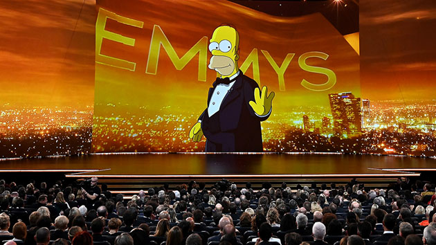 Homer Simpson opens the Emmy Awards; FOX