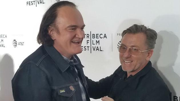L-R Tarantino, Roth -- ABC/Steve Iervolino