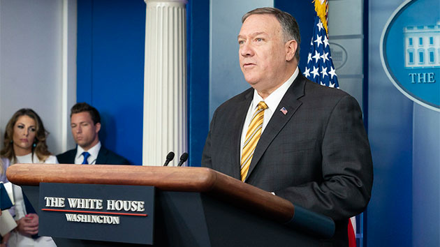 Pompeo sees 'duty' to probe Ukraine meddling theory