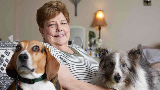 (Photo Credit: Melissa Akacha) Lynn Schutzman, a 70-year-old former pharmacist, was living out of a small SUV with her two dogs until two friends came across her car in a suburban Philadelphia store parking lot.