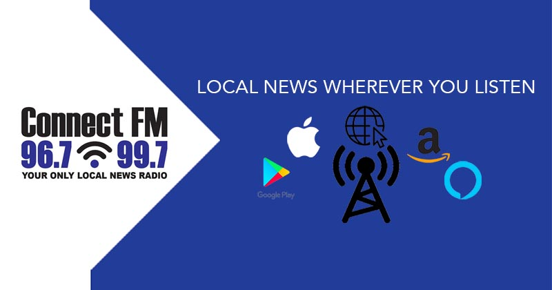 Where to Listen to Connect FM