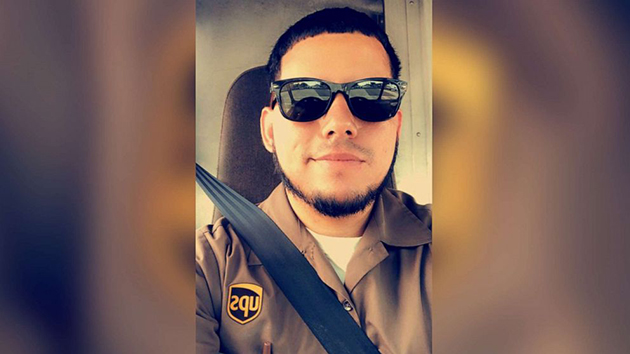 (Ordonez Family/Facebook) An undated photo shows Frank Ordonez, who was killed in a shootout in Miramar Fla., on Dec. 5, 2019, in a UPS uniform.