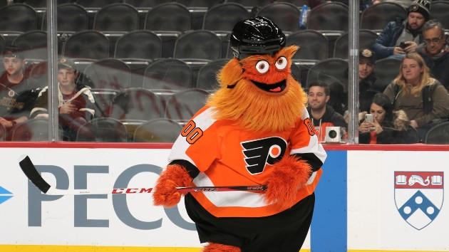 Philadelphia Flyers Mascot Gritty Accused Of Punching Boy During Photo Shoot Connect Fm Local News Radio Dubois Pa