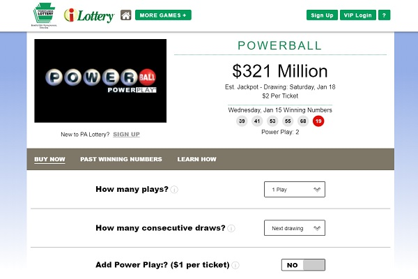 Pa Powerball And Mega Millions Tickets Now Available For Purchase Online Connect Fm Local News Radio Dubois Pa