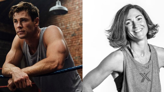 Chris Hemsworth/Centr; Sabrina Wescott/MaxPro Fitness