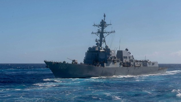 Mass Communication Specialist 3rd Class Matthew F. Jackson/U.S. Navy